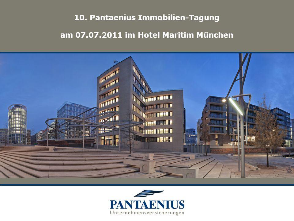 10. Pantaenius Immobilien-Tagung am 07. 07