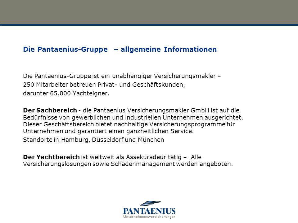 Die Pantaenius-Gruppe – allgemeine Informationen