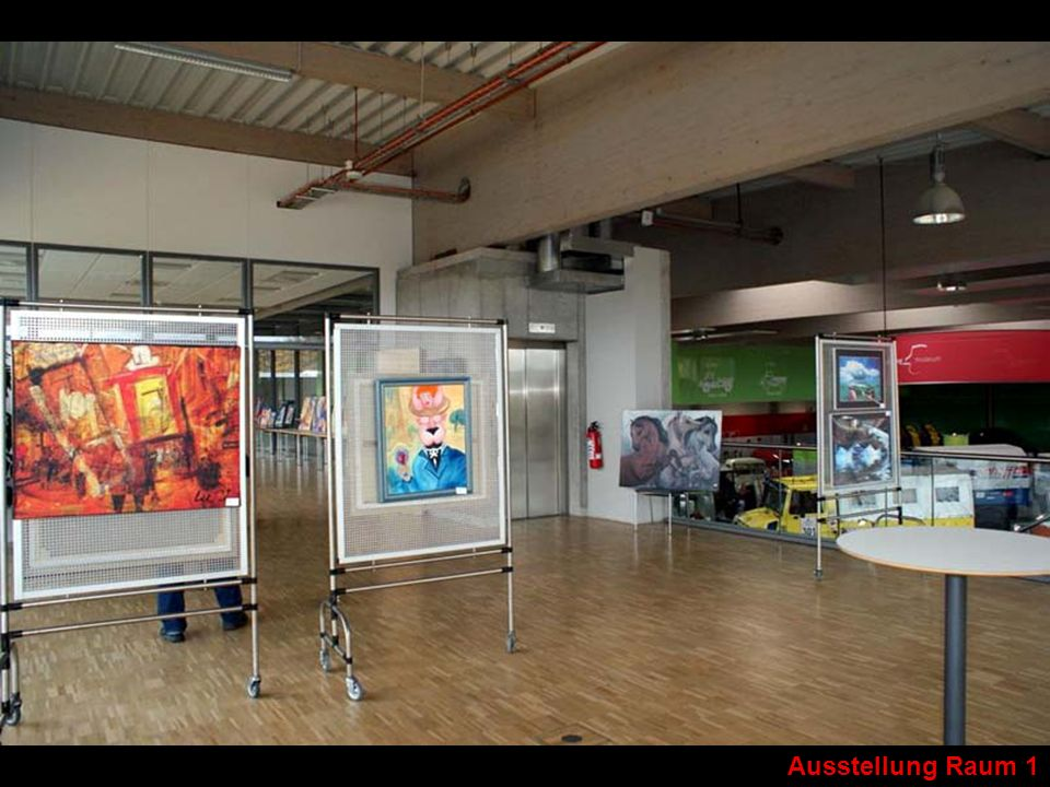 Ausstellung Raum 1