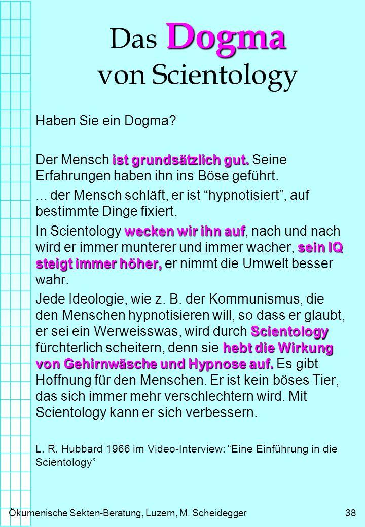Das Dogma von Scientology