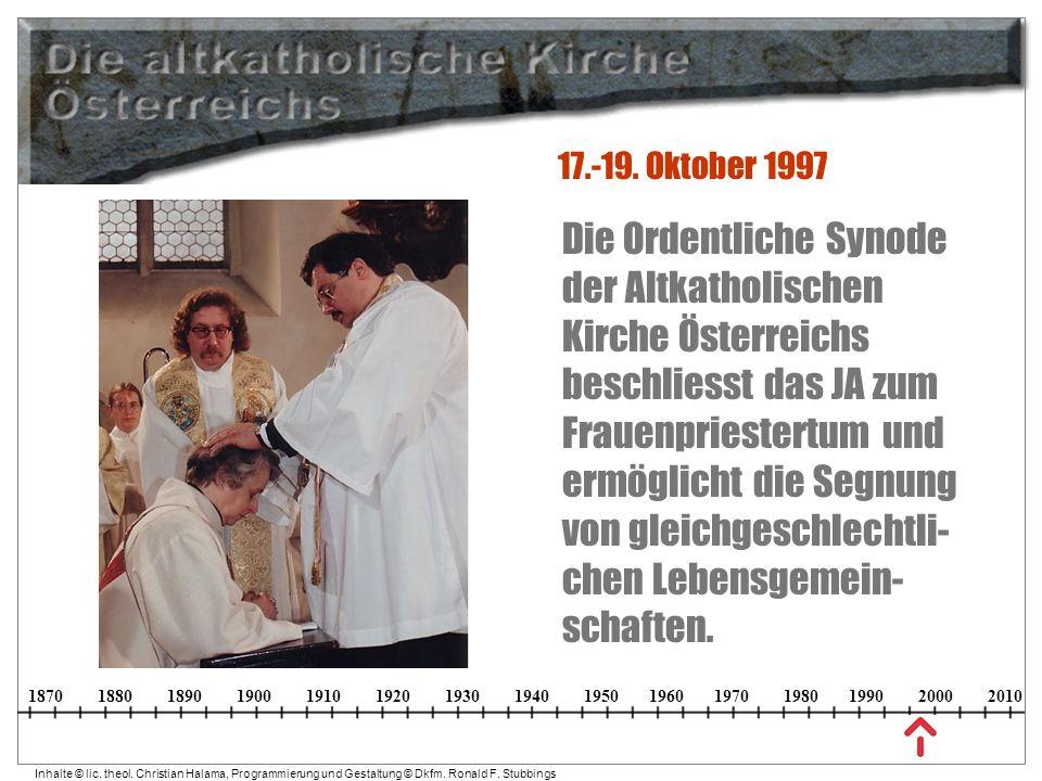 17.-19. Oktober 1997
