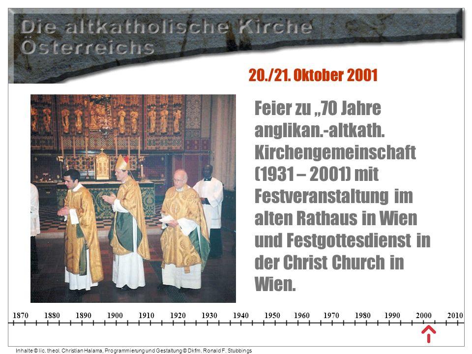 20./21. Oktober 2001