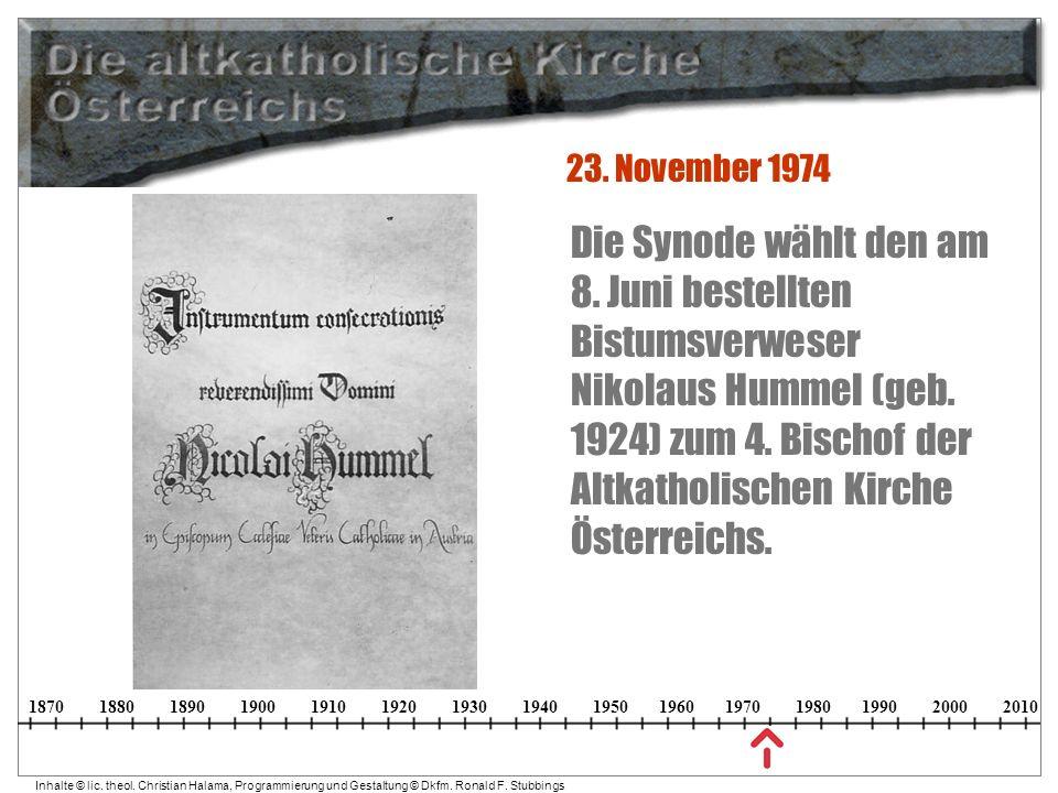 23. November 1974