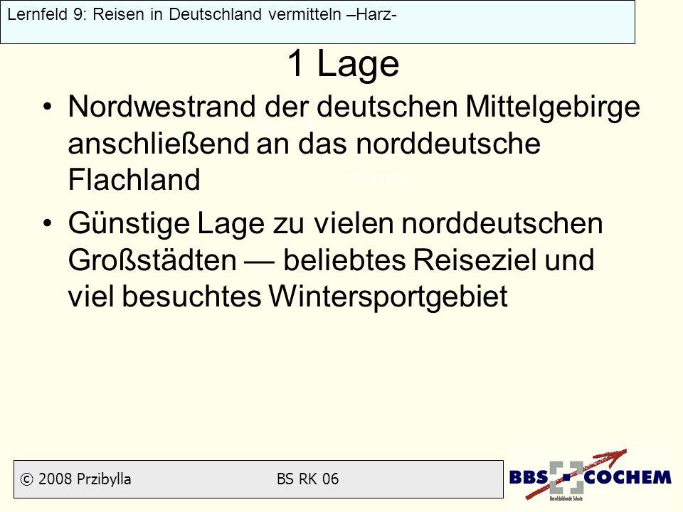 1 Lage Nordwestrand der deutschen Mittelgebirge anschließend an das norddeutsche Flachland.