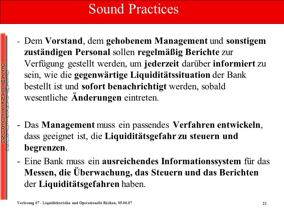 Sound Practices