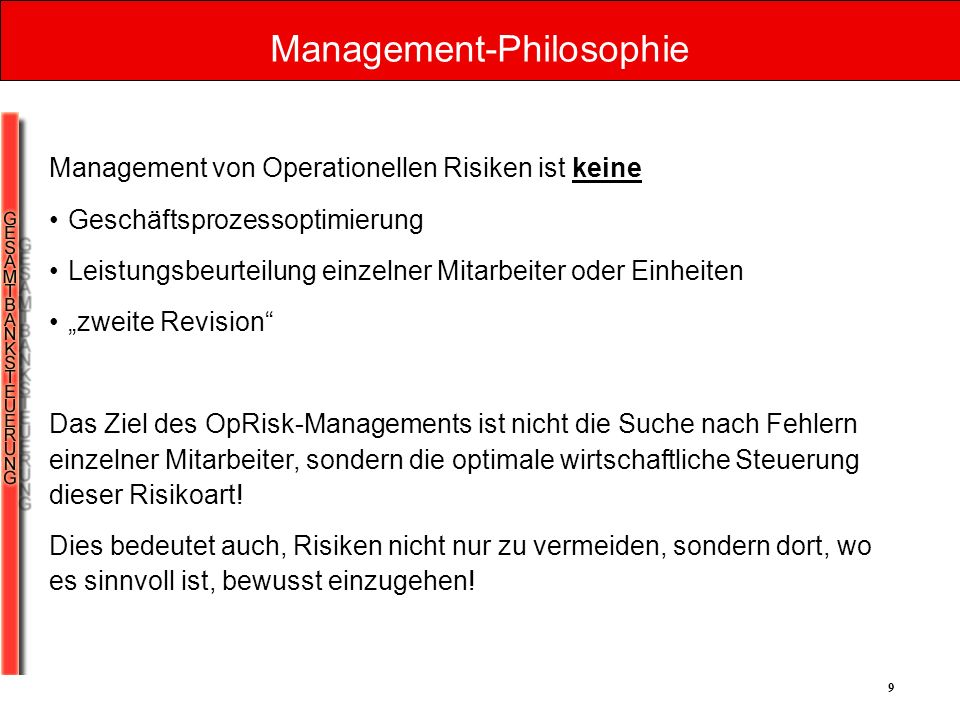 Management-Philosophie