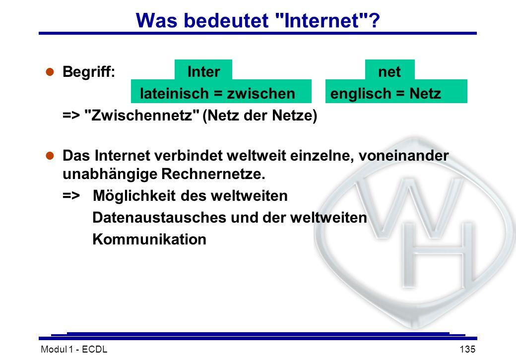 Was bedeutet Internet Begriff: Inter net