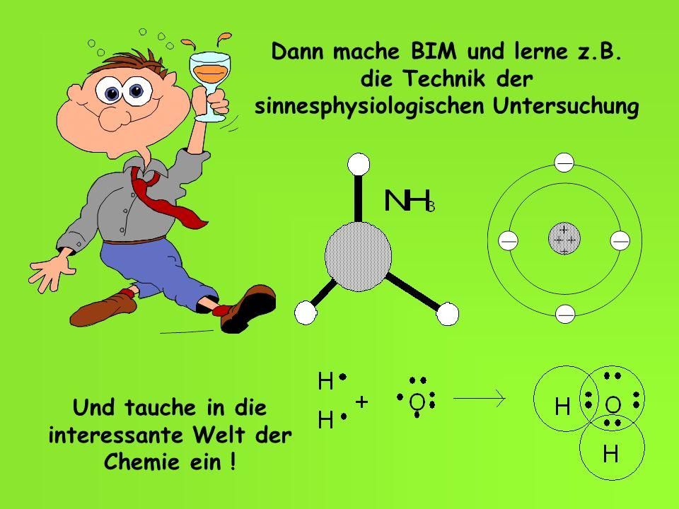 Und tauche in die interessante Welt der Chemie ein !