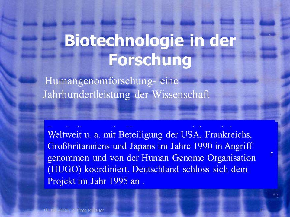 Biotechnologie in der Forschung