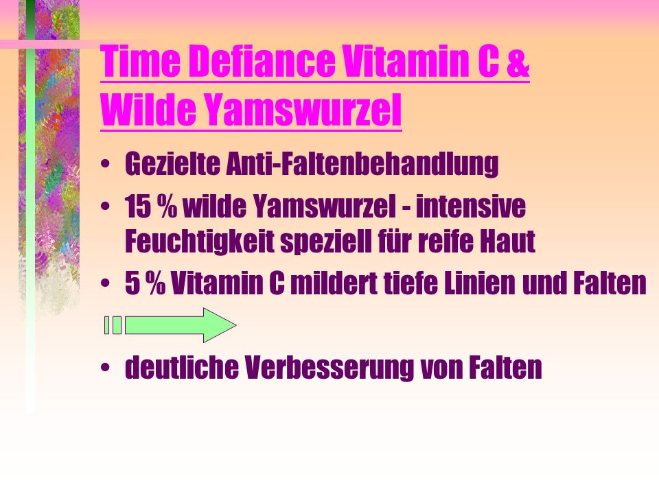 Time Defiance Vitamin C & Wilde Yamswurzel