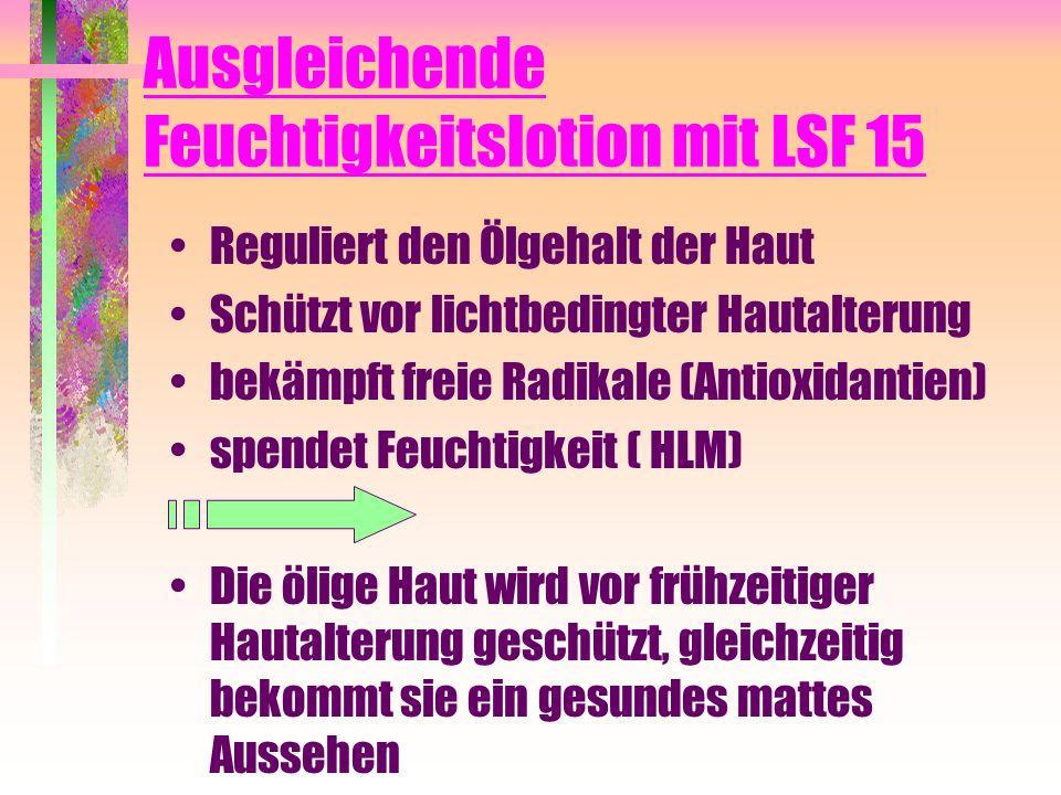 Ausgleichende Feuchtigkeitslotion mit LSF 15