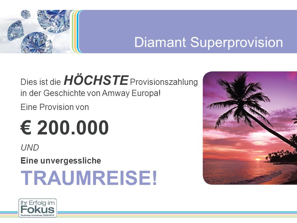 € 200.000 Diamant Superprovision