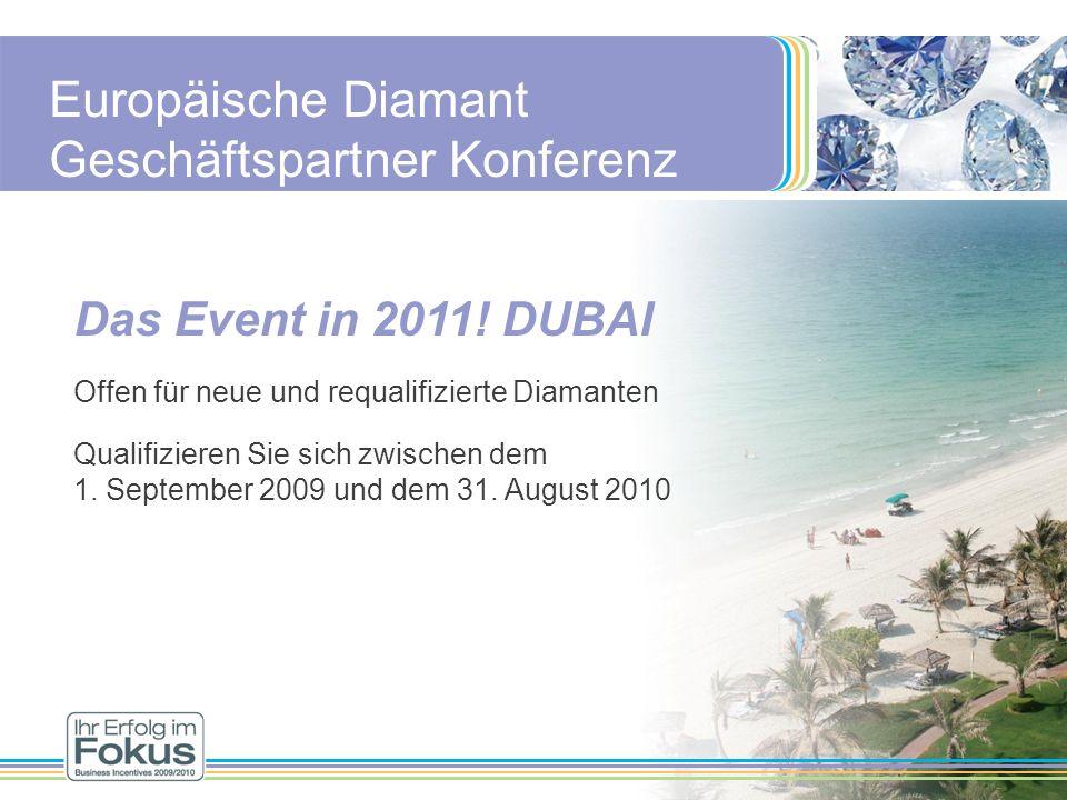 Europäische Diamant Geschäftspartner Konferenz