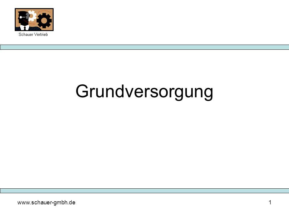 Grundversorgung www.schauer-gmbh.de