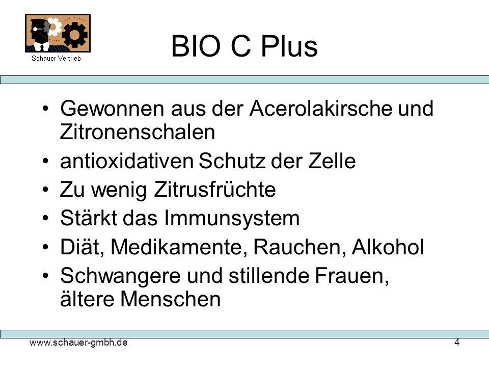 BIO C Plus Gewonnen aus der Acerolakirsche und Zitronenschalen