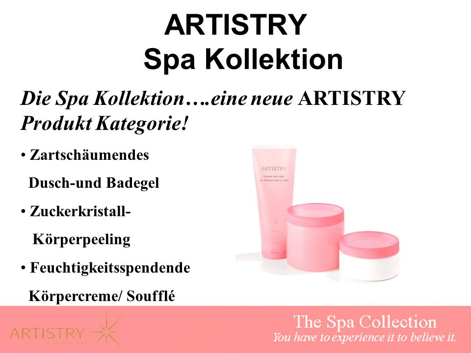 ARTISTRY Spa Kollektion