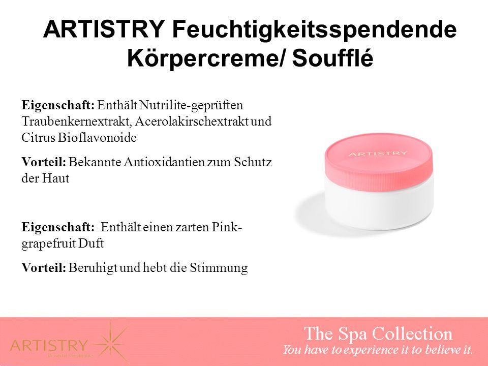 ARTISTRY Feuchtigkeitsspendende Körpercreme/ Soufflé