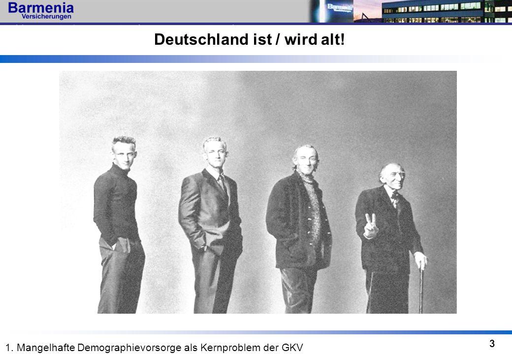 Deutschland ist / wird alt!