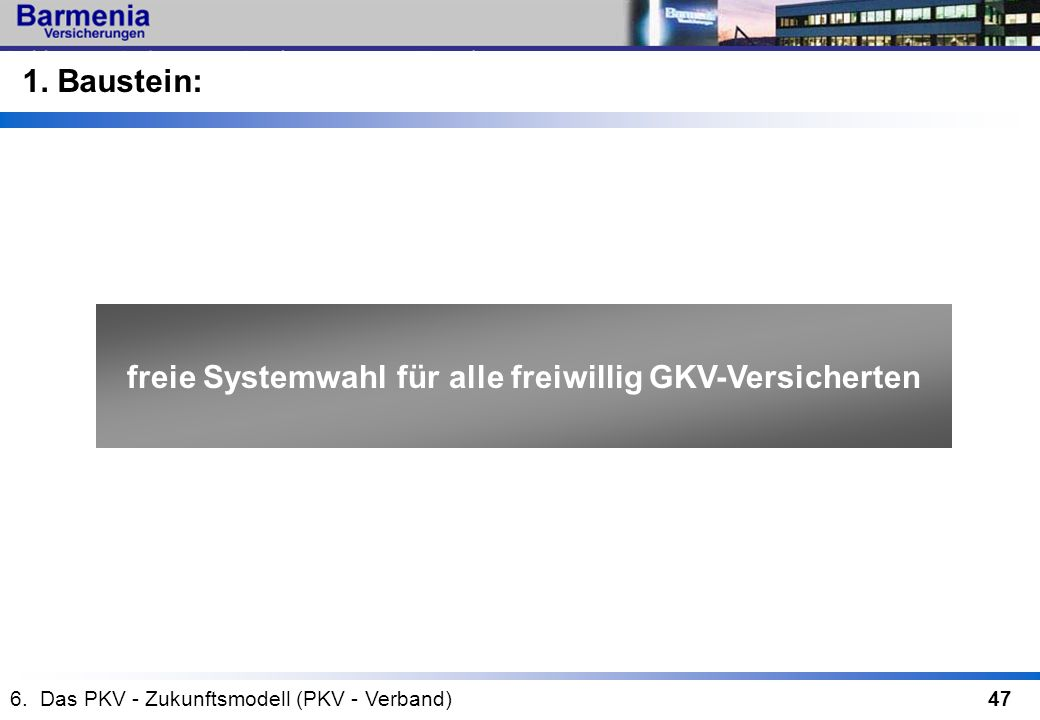 freie Systemwahl für alle freiwillig GKV-Versicherten