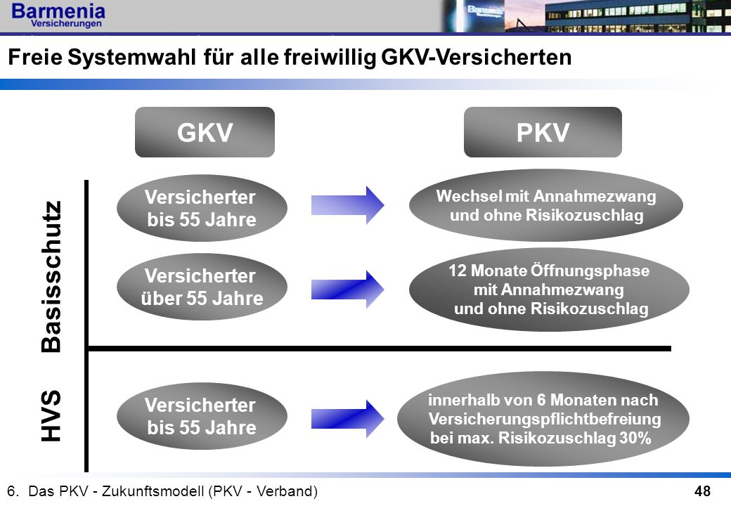 GKV PKV Basisschutz HVS