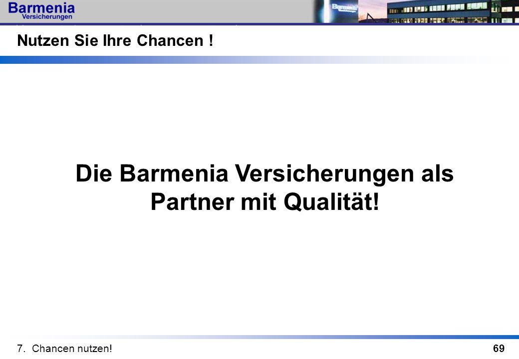 Die Barmenia Versicherungen als Partner mit Qualität!