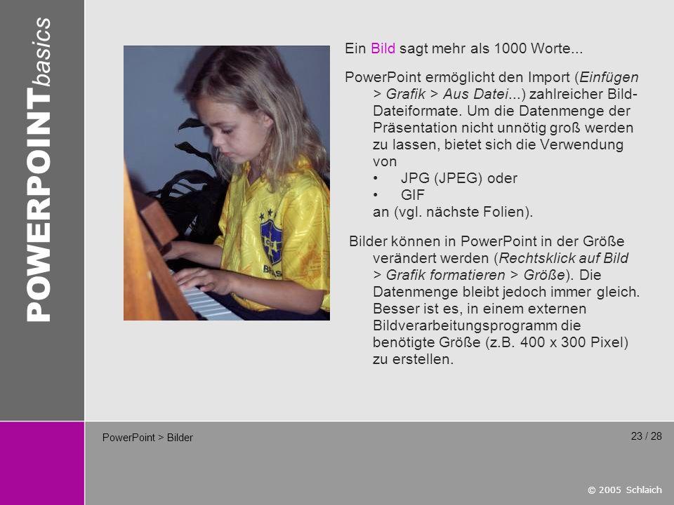 PowerPoint > Bilder