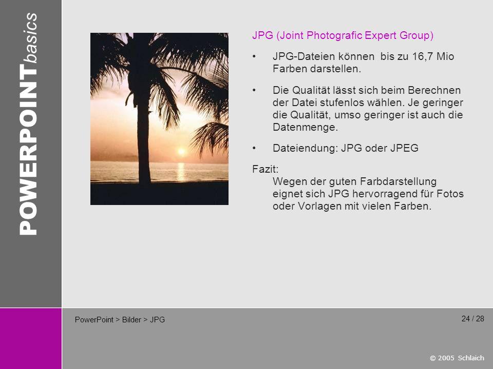 PowerPoint > Bilder > JPG