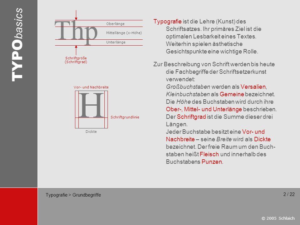 Typografie > Grundbegriffe