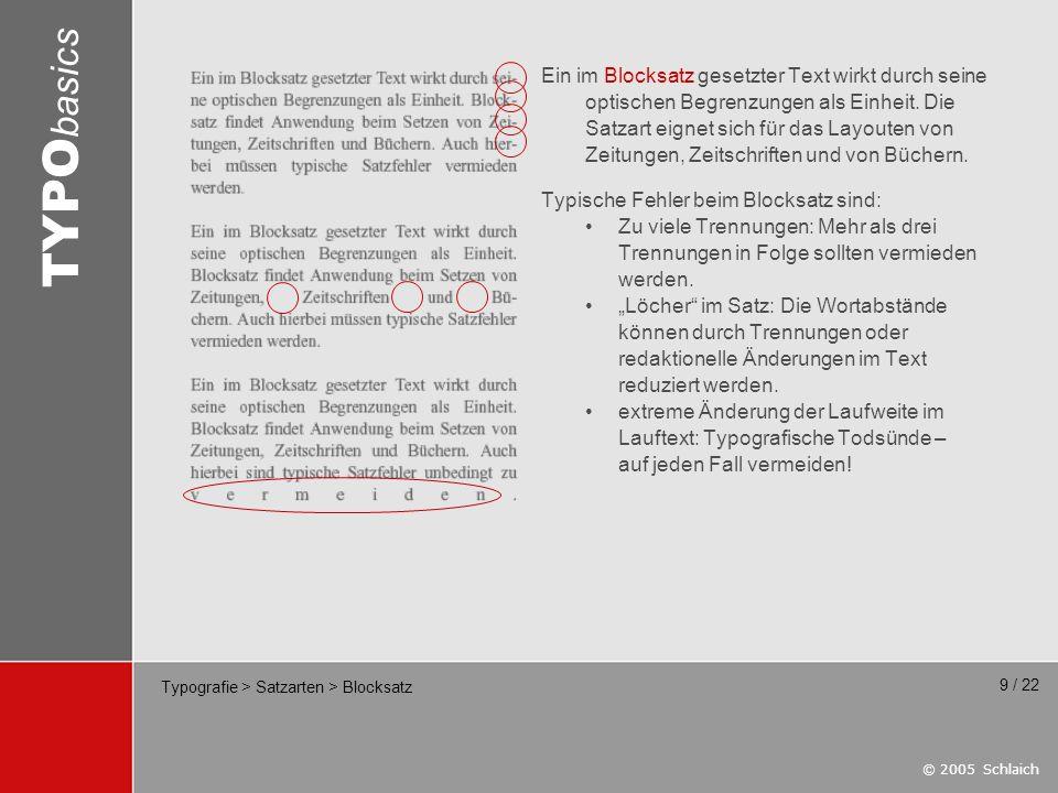 Typografie > Satzarten > Blocksatz