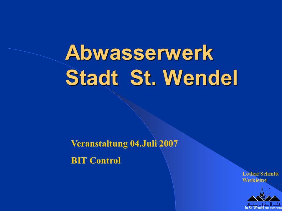 Abwasserwerk Stadt St. Wendel