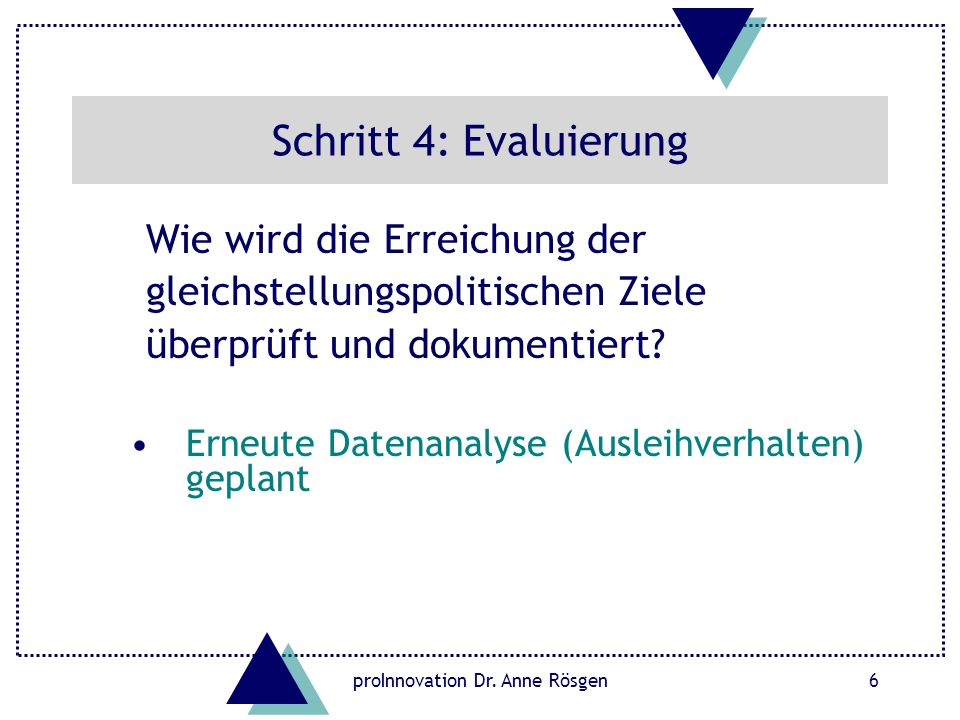 proInnovation Dr. Anne Rösgen