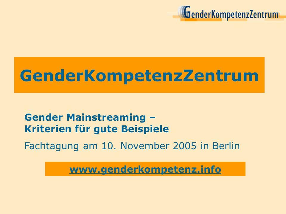 GenderKompetenzZentrum