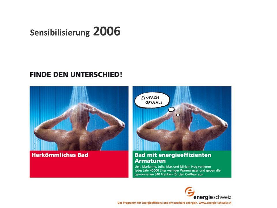 Sensibilisierung 2006
