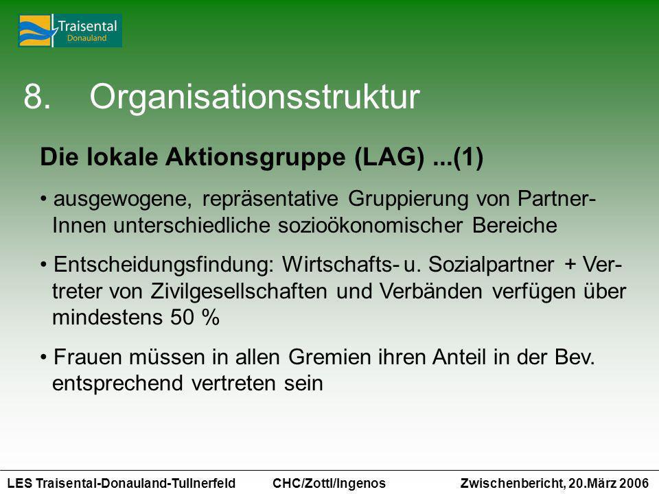 8. Organisationsstruktur