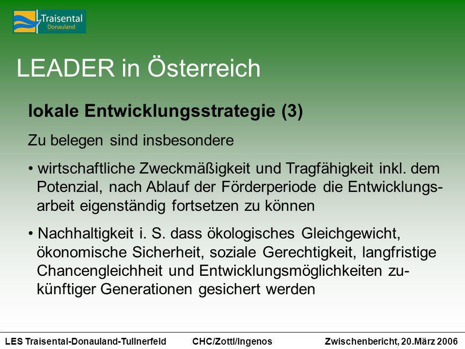 LEADER in Österreich lokale Entwicklungsstrategie (3)