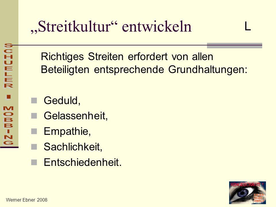 """""""Streitkultur entwickeln"""