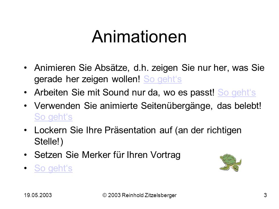 © 2003 Reinhold Zitzelsberger