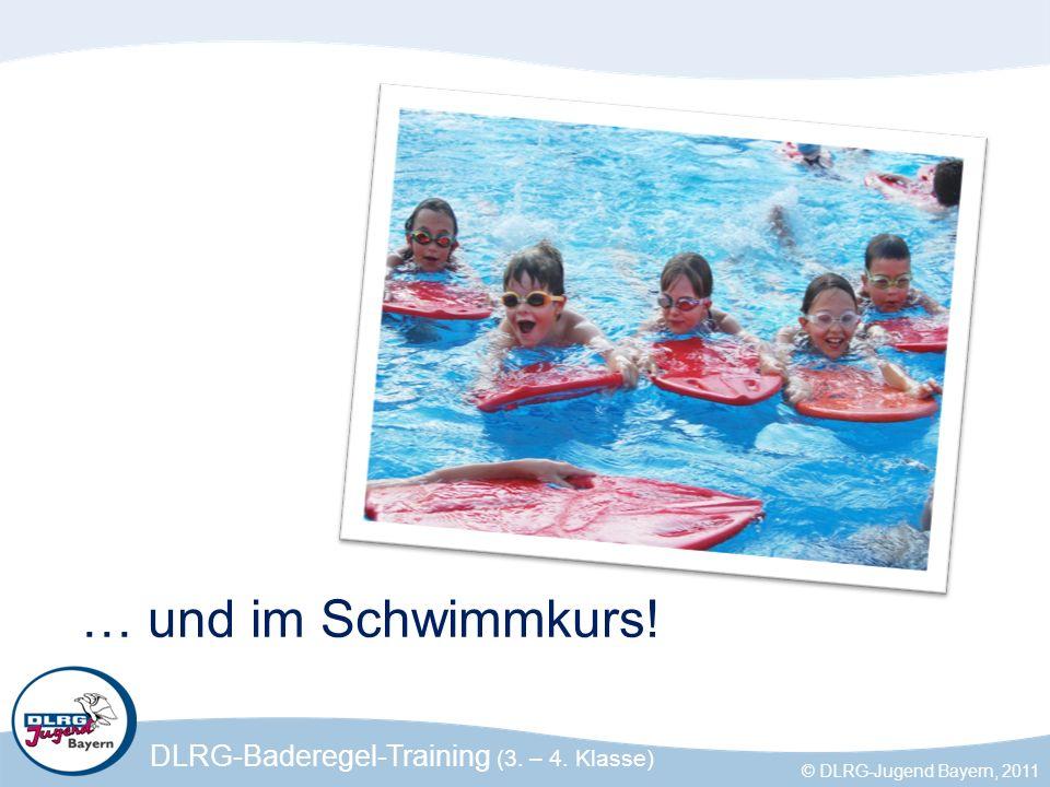 … und im Schwimmkurs!