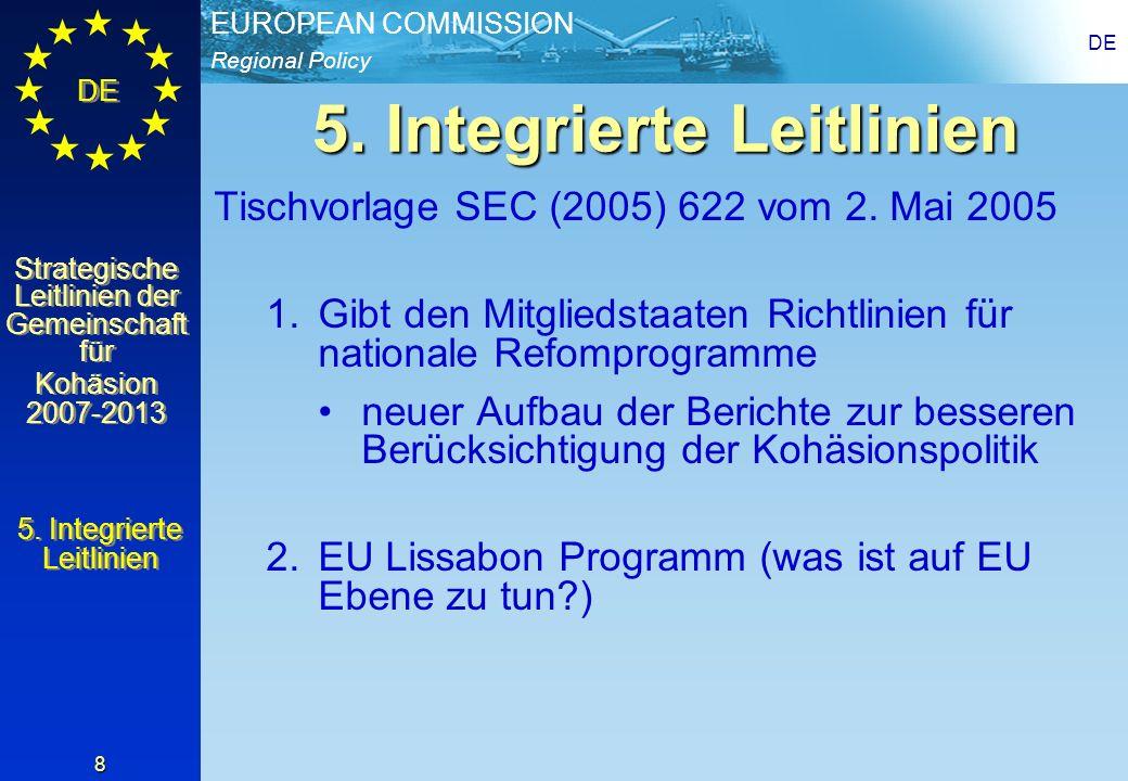 5. Integrierte Leitlinien