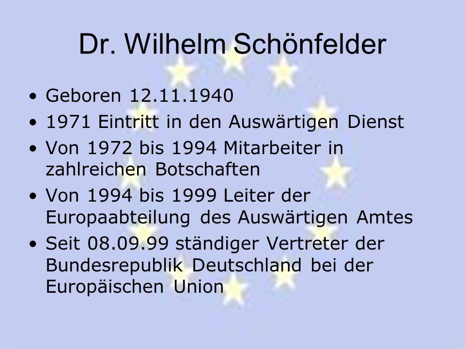 Dr. Wilhelm Schönfelder