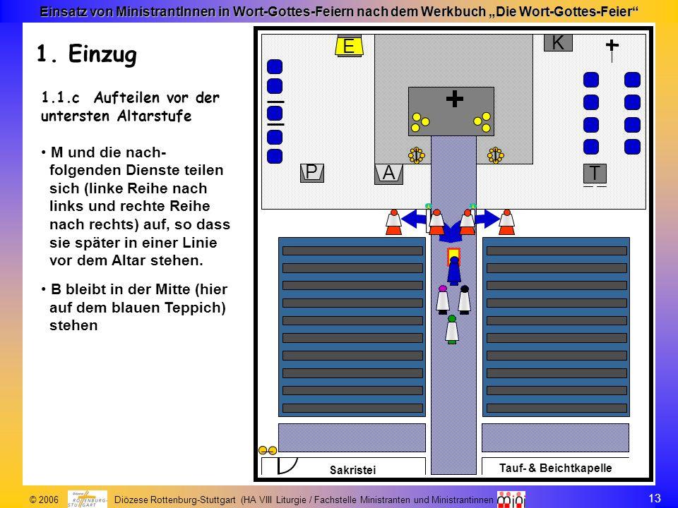 K E. A. P. T. Tauf- & Beichtkapelle. Sakristei. K. E. A. P. T. Tauf- & Beichtkapelle. Sakristei.