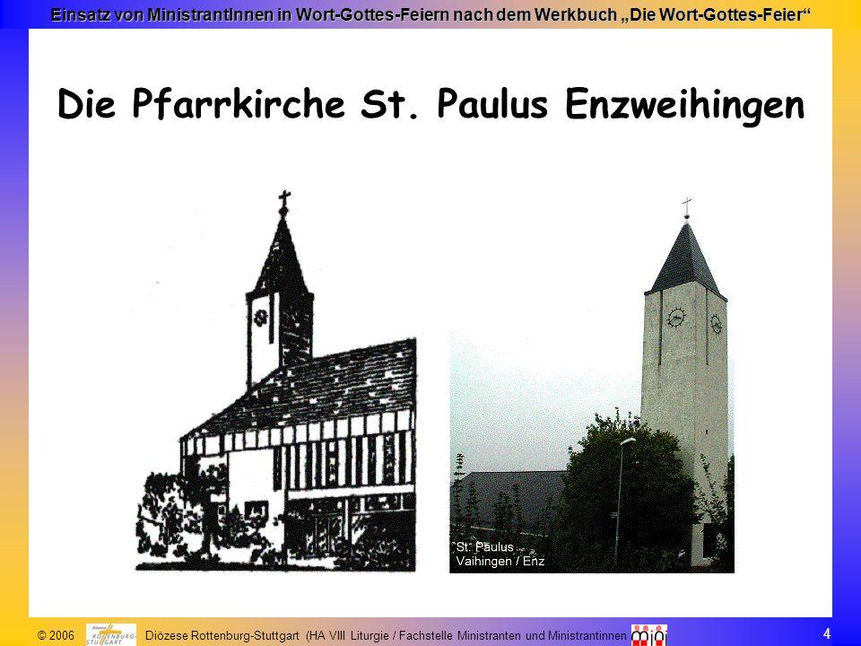 Die Pfarrkirche St. Paulus Enzweihingen