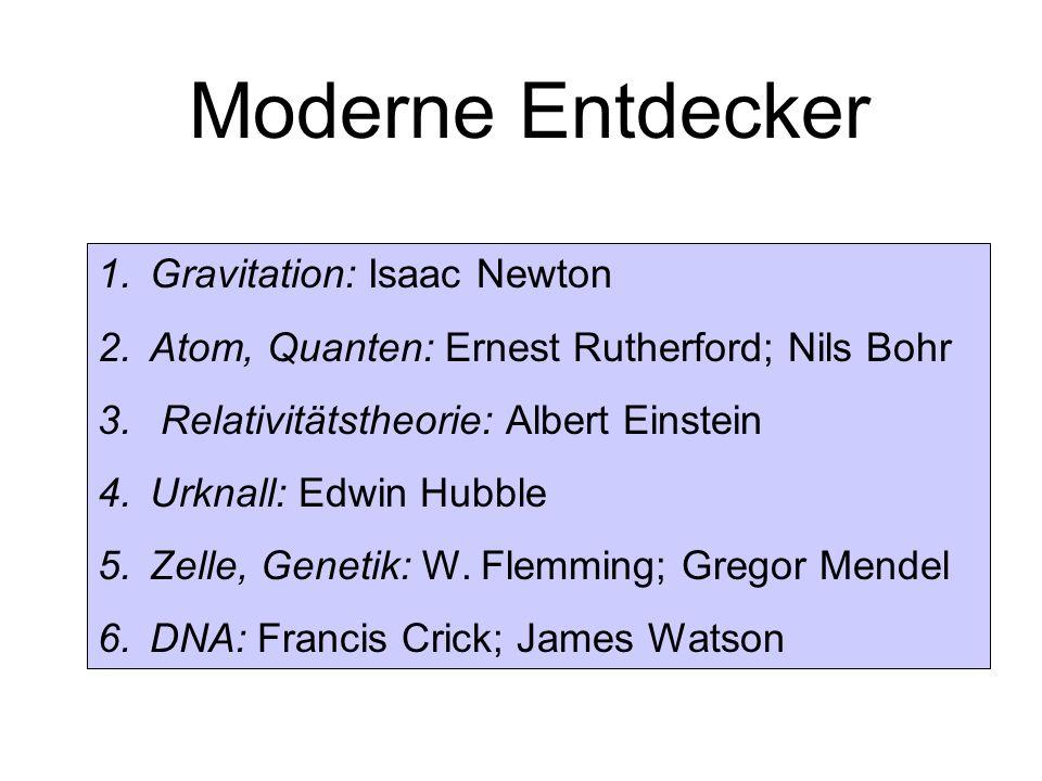 Moderne Entdecker Gravitation: Isaac Newton