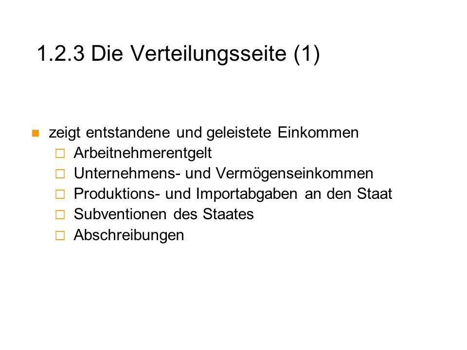 1.2.3 Die Verteilungsseite (1)
