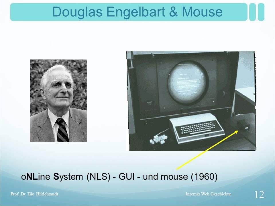 Douglas Engelbart & Mouse