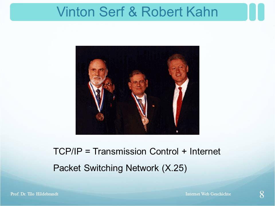 Vinton Serf & Robert Kahn