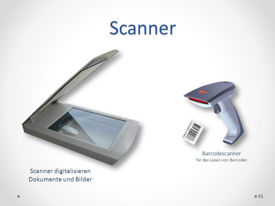 Scanner Scanner digitalisieren Dokumente und Bilder