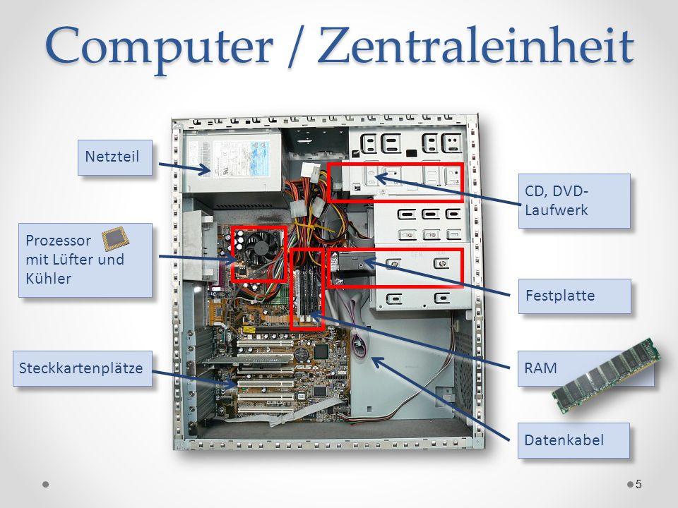 Computer / Zentraleinheit