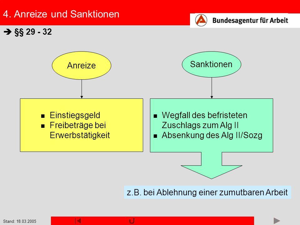 4. Anreize und Sanktionen