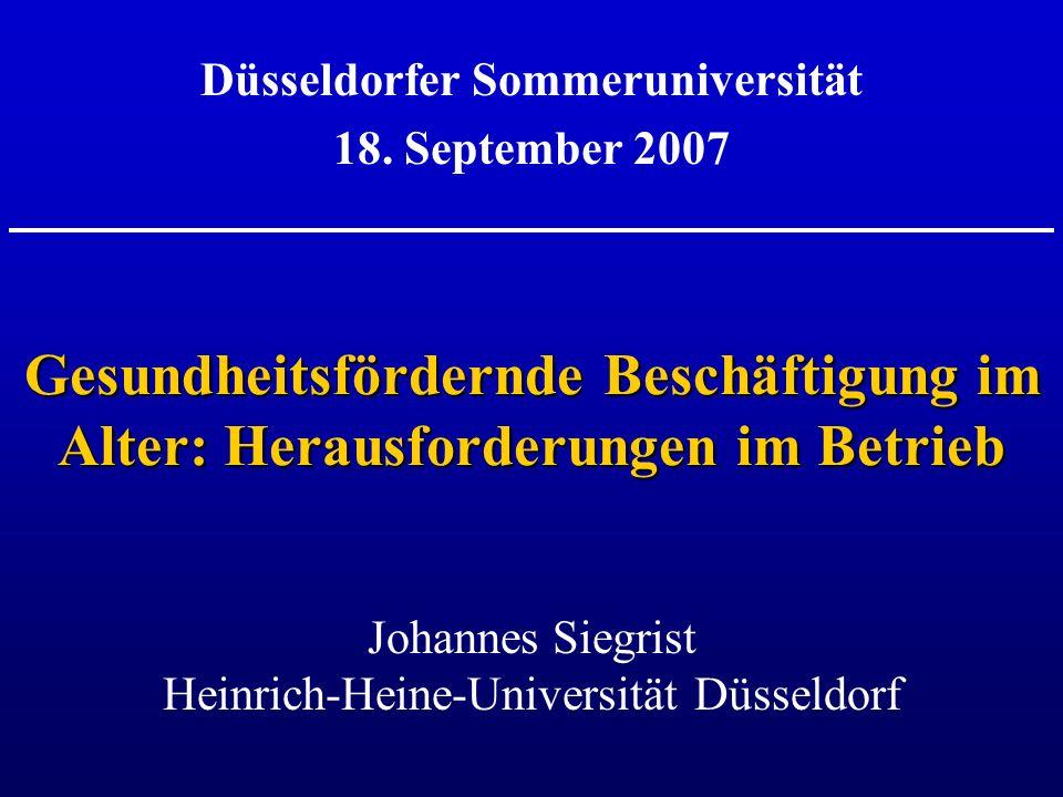 Düsseldorfer Sommeruniversität